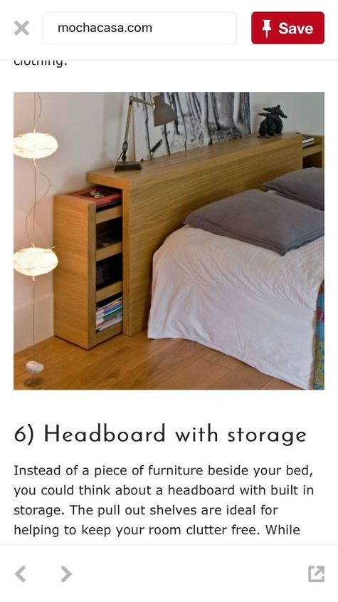 q has anyone made a headboard for cpap users