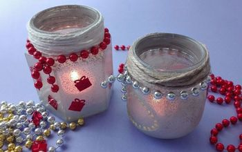 DIY Frosted Mason Jar Tea Light Holders And Decor Your Home