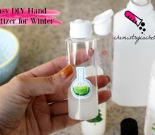 diy hand sanitizer for winter great christmas gift idea