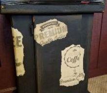 coffee house trash can