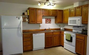 clever kitchen storage tips, AFTER Budget friendly update
