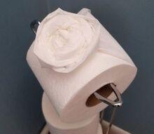 toilet paper roses