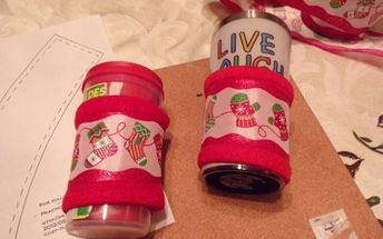 holiday cup cozy s