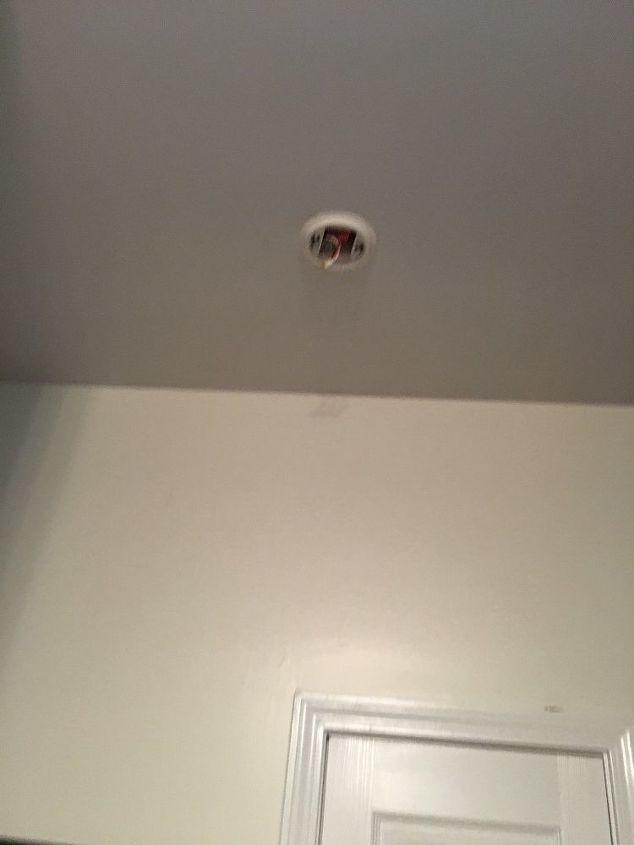 q smoke detectors chirping