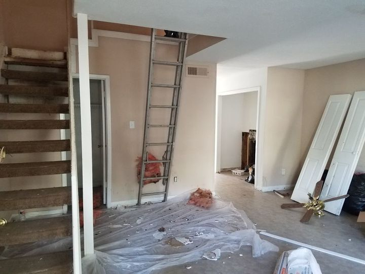 q i recently purchased a townhouse and the stairs are horrible