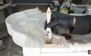 how to glaze furniture reclaim and antique finish technique