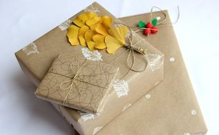 3 adorable wrapping paper diy ideas