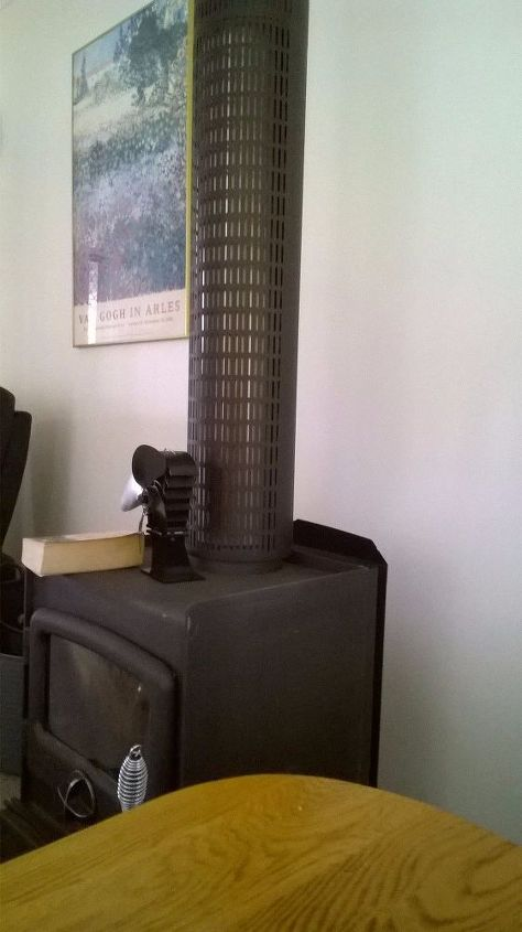 Decorating The Wall Behind A Wood Burning Stove Hometalk