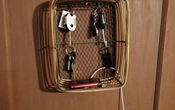 From Decorative Basket to Useful Organizing Tool