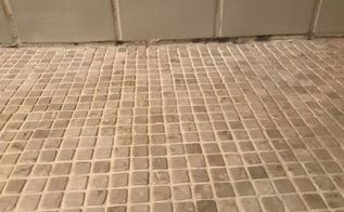 q how to stop mold on the lowest row of grout in my shower