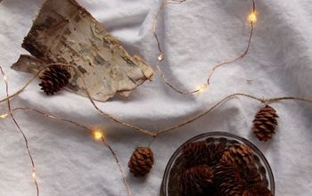 Simple Pinecone Garland (with NO Hot Glue!)