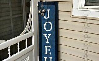 diy holiday barn wood sign