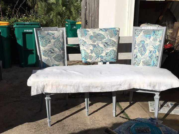 Prime Elegant Curved Dining Banquette Bench From Vintage Thrift Onthecornerstone Fun Painted Chair Ideas Images Onthecornerstoneorg
