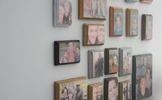diy photo collage on wood using photo transfer medium