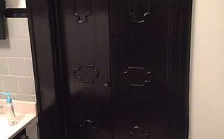giving that old bi fold door a new look
