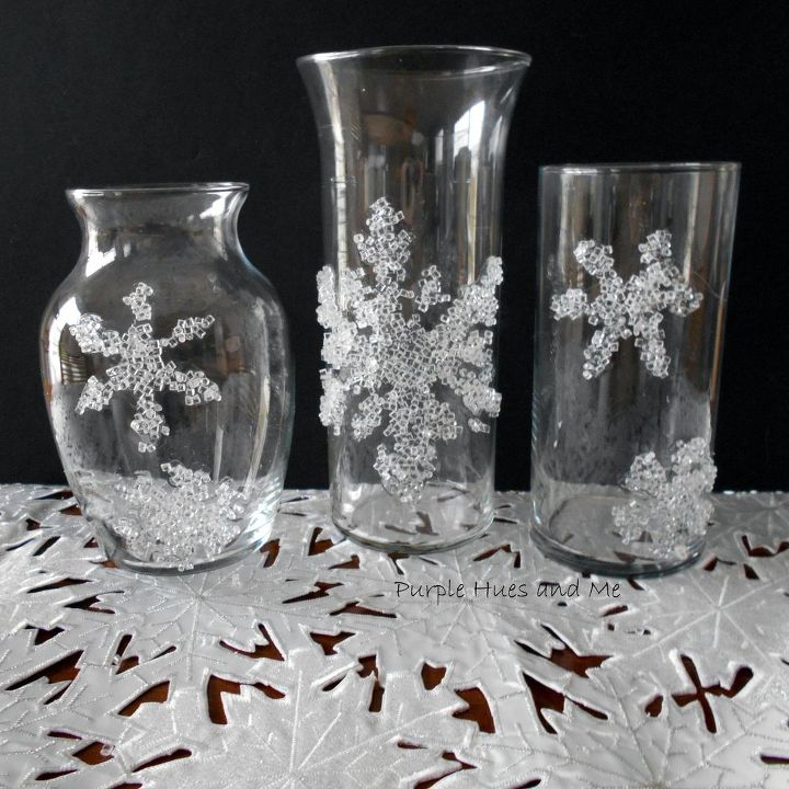 s make your home a winter wonderland with these stunning ideas, Decorative Snowflake Fillers