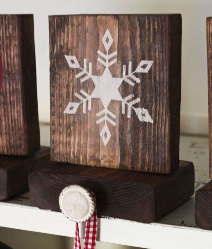 rustic stocking holders
