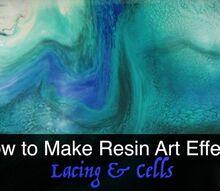 how to make resin art