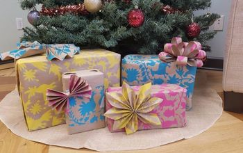 diy gift wrapping paper
