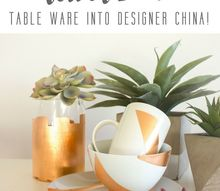 turn dollar store table ware into designer china for the new year
