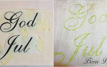 diy acrylic whitewashed hand painted signs or ornaments the easy way