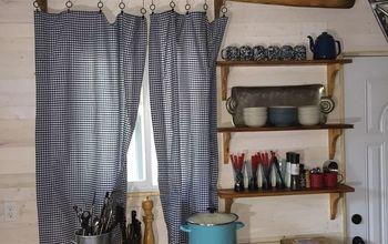 bathroom vanity becomes cottage kitchen