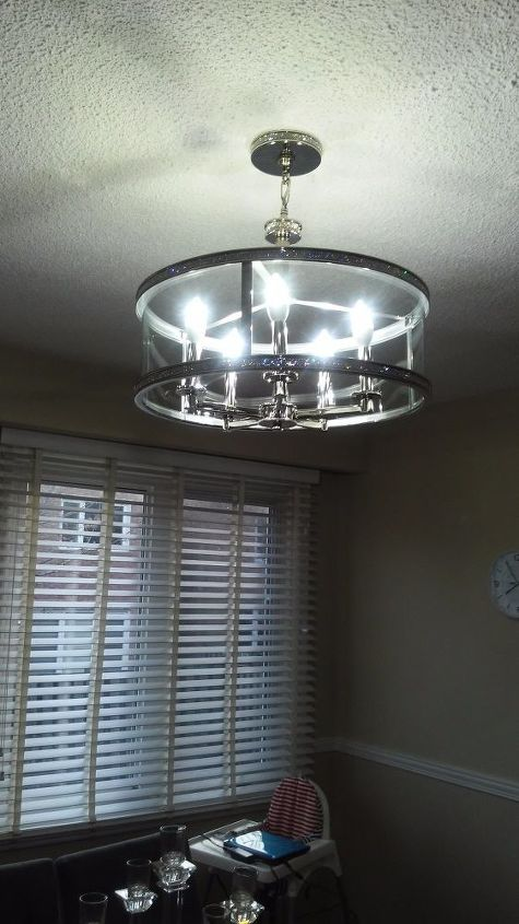 q i would like to lower the height of the chandelier