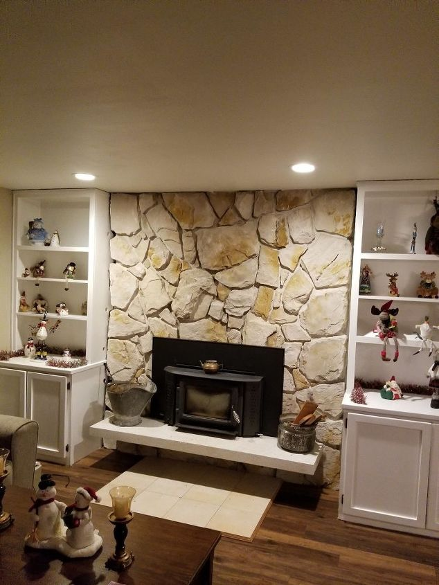 I Would Like To Update Our Stone Fireplace Can Y Uou Give Me Any Ideas