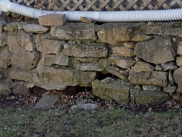 What Is The Best Way To Mortar An Old Stone Retaining Wall