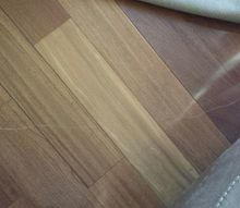 q what the best way to fix touch up scratches on hardwood floors