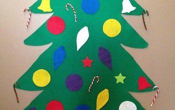 diy toddler felt christmas tree