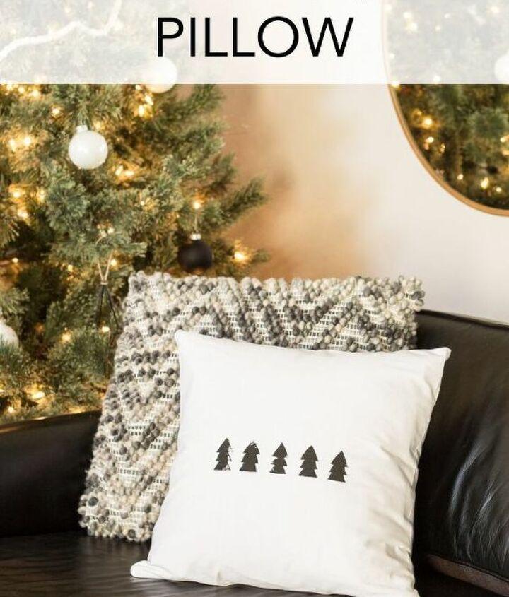 diy scandi pillow