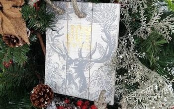 christmas deer themed decorating ideas