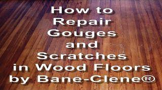 Deep Gouge On My Hardwood Floor