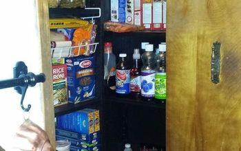 Reorganized Pantry