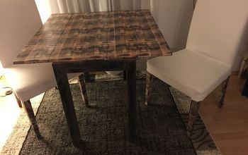 Decoupage Update for IKEA Table and Chairs