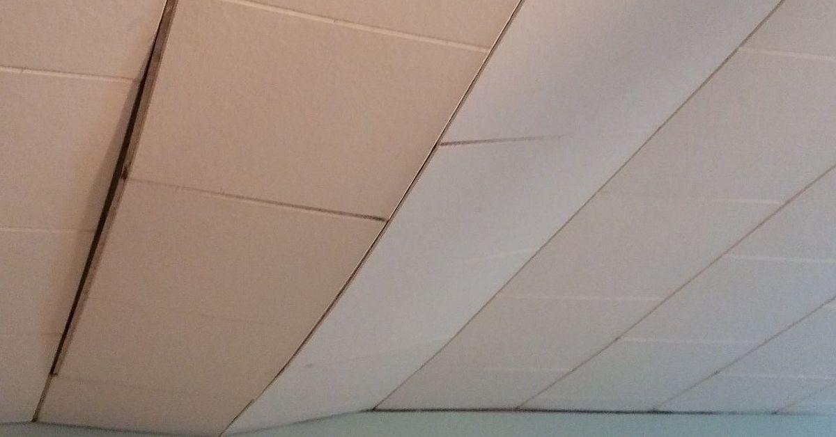 Asbestos In 12 215 12 Ceiling Tiles Shelly Lighting