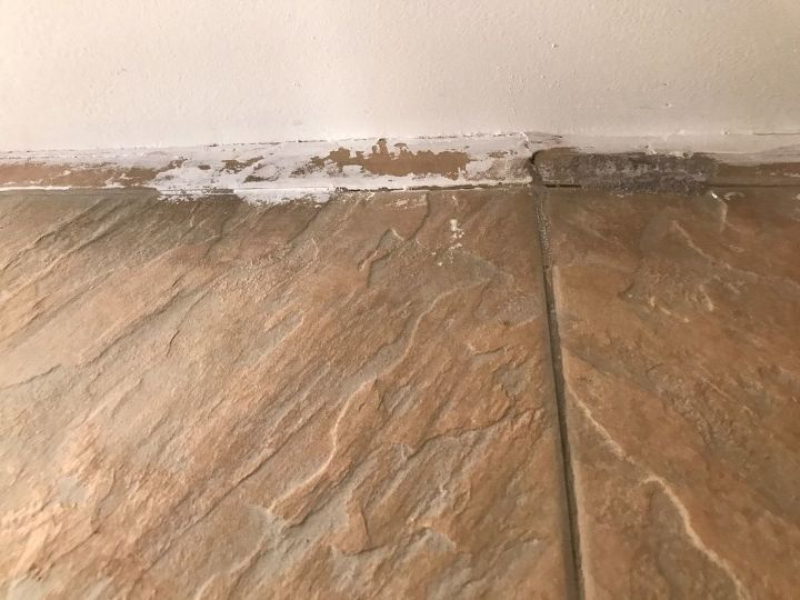 q how can i remove paint from tile
