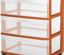 q idea s for repurposing clear drawers from storage cart dresser