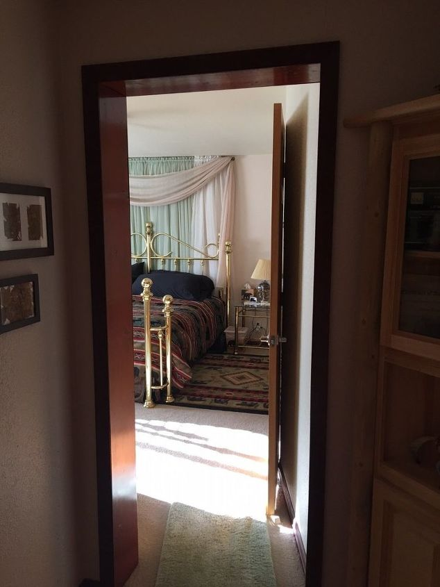 q what can be done to privatize bedroom doorway