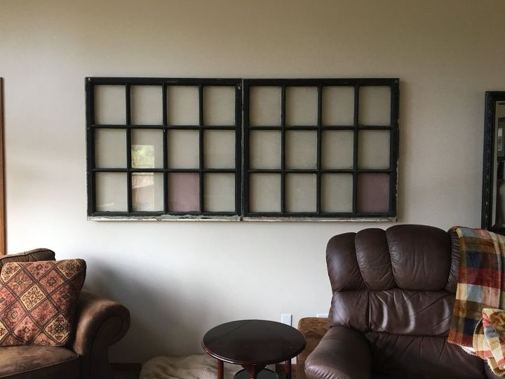 Large Window Pane Wall Art...need INEXPENSIVE ideas | Hometalk
