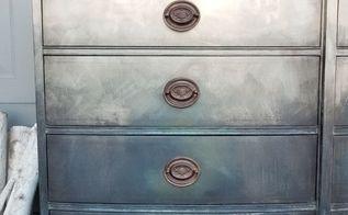 brushed metallic mahogany