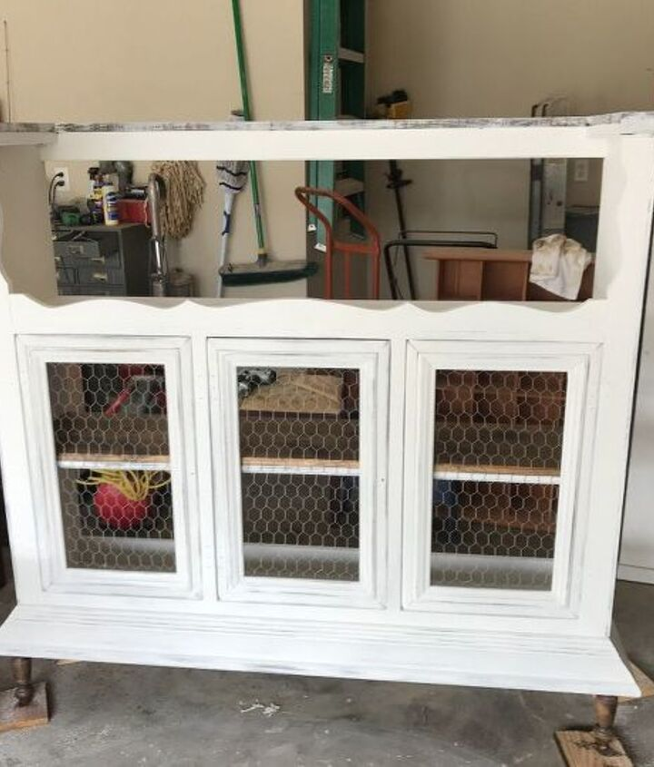 repurposed hutch top