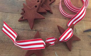 cinnamon applesauce star garland