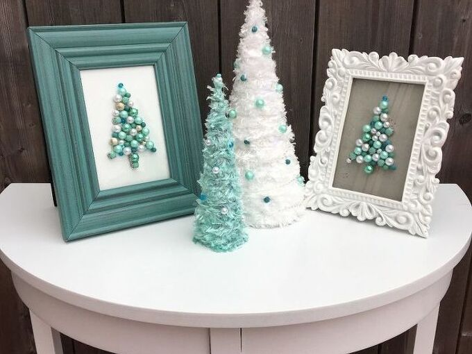 glamour christmas tree diy