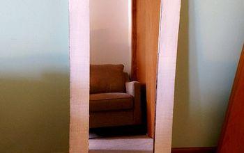 cheap mirror cardboard to framed mirror