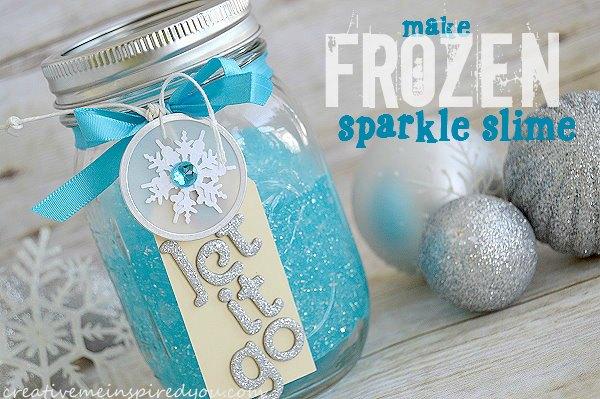 Frozen Sparkle Slime