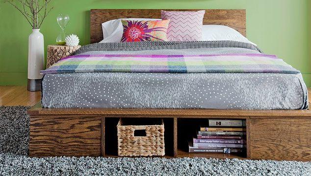 15 DIY Platform Beds