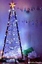 diy modern 2x4 christmas tree