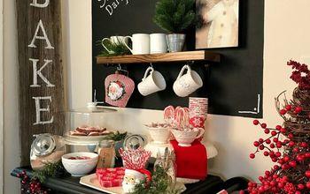 A Christmas Cocoa Bar!
